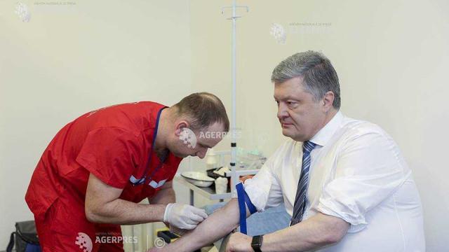 Alegeri prezidențiale în Ucraina | Poroșenko și Zelenski își fac teste antidrog