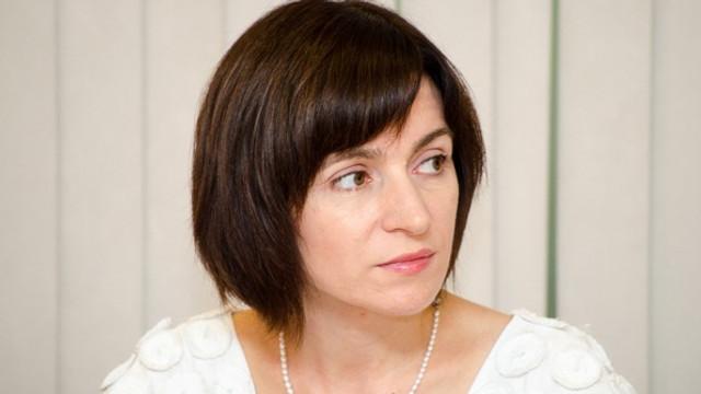 Maia Sandu: Nu vom vota pentru un președinte al Parlamentului înaintat de PSRM