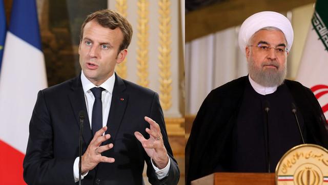 Emmanuel Macron şi-a exprimat dorinţa continuării unui dialog constructiv cu Teheranul