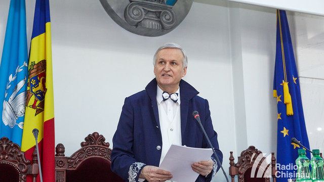 Academia de Științe a Moldovei are un nou președinte. GALERIE foto de la Adunarea Generală în  momentul votării