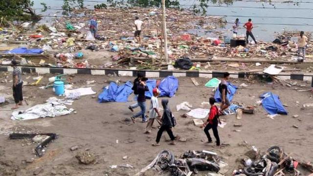 Alertă de tsunami în Indonezia, după un cutremur de 6,8 grade pe scara Richter, produs în largul insulei Sulawesi