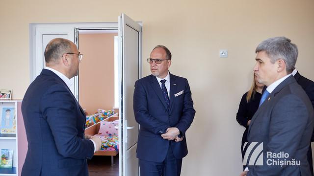 FOTO | O nouă grădiniță renovată pe banii României. Ambasadorul Daniel Ioniță: Suportul financiar este oferit pentru toți cetățenii