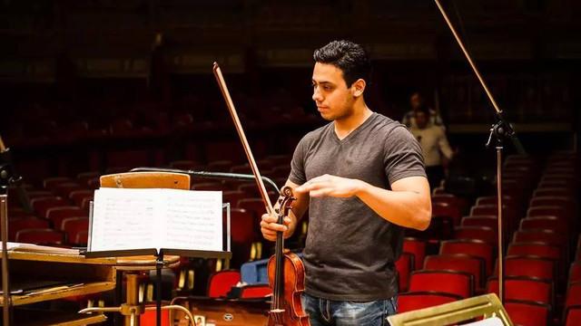 Un violonist moldovean, numit concertmaistru la Filarmonica din Israel