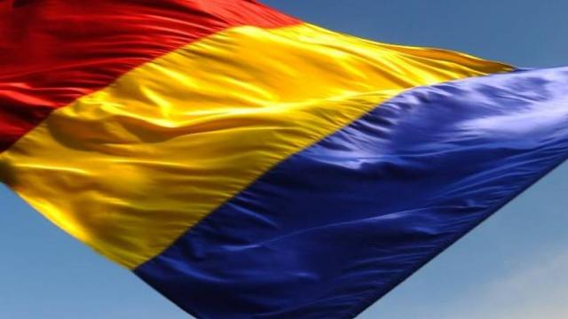 Cel mai mare steag al României a fost pictat la Mausoleul Mărășești