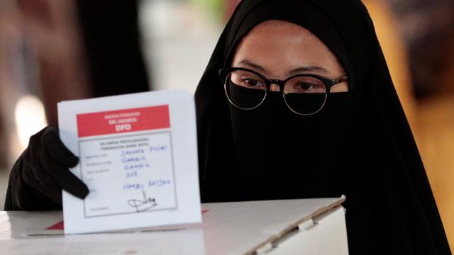 Rezultate preliminare ale alegerilor prezidenţiale din Indonezia