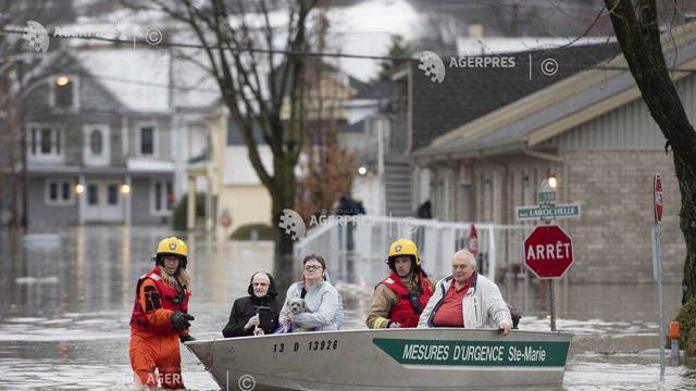 Inundații în Canada: Primarul capitalei Ottawa a decretat stare de urgență