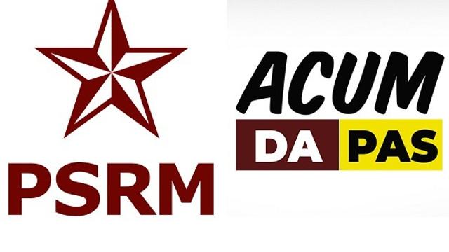 PSRM și blocul ACUM își mențin pozițiile privind votarea unor proiecte de legi în Parlament