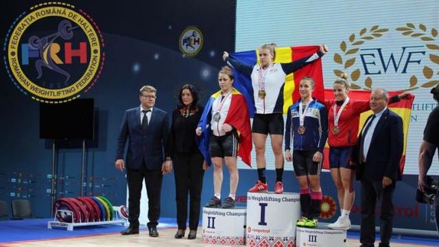 Șase medalii pentru sportivele din România Loredana Toma și Irina Lepșa la Europenele de haltere