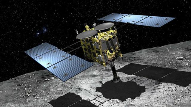 Sonda spațială Hayabusa2 a realizat în premieră un crater artificial pe un asteroid îndepărtat