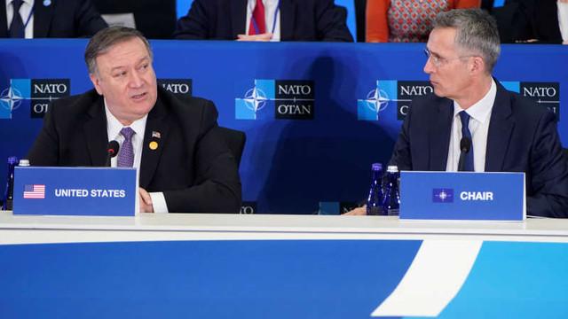 """Mike Pompeo: Aliații NATO trebuie să-și crească cheltuielile pentru a se adapta noilor provocări și să nu invoce """"scuze obosite"""""""