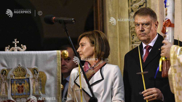Președintele Românei, Klaus Iohannis, și soția sa, sărbătoresc Paștele Catolic