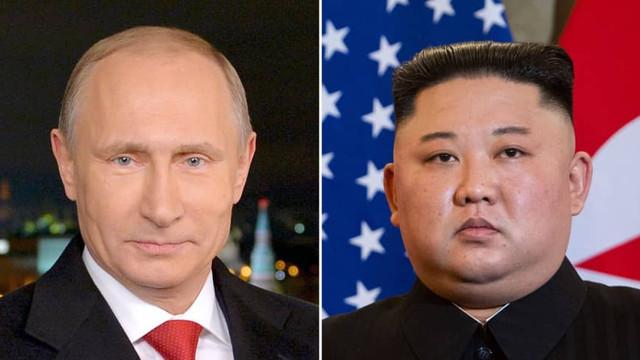 Kim Jong Un a plecat în această dimineaţă spre Siberia pentru întâlnirea cu Vladimir Putin