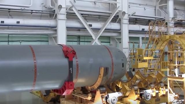 A fost anunțată data lansării la apă a primului submarin nuclear fără pilot de tip