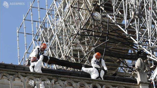 Incendiu la Notre-Dame   Guvernul francez are în vedere derogări pentru a accelera lucrările de reconstrucție