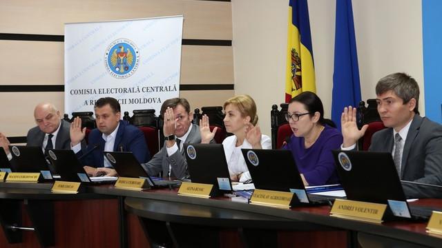 Comisia Electorală Centrală a ridicat mandatele a patru consilieri municipali