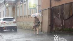 METEO | Ploi în averse puternice sunt așteptate și astăzi în unele localități din R.Moldova