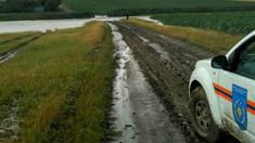 Ploile de vineri au provocat pagube grave în mai multe localitățidin Republica Moldova