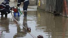 Zeci de gospodării din nordul ţării au fost afectate de ploile din ultimele zile