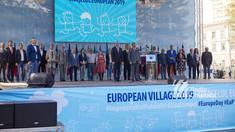 """""""Orășelul European"""" la Chișinău   Michalko, despre furtul miliardului, iar Filip, despre raportarea la Europa (FOTO)"""
