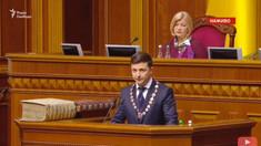 Volodimir Zelenski este oficial noul președinte al Ucrainei. Ce a declarat în discursul său de învestire