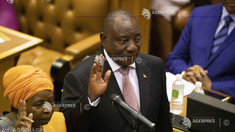 Cyril Ramaphosa a fost reales preşedinte al Africii de Sud