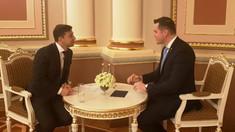 Tudor Ulianovschi a avut o întrevedere cu Volodimir Zelenski. Despre ce au discutat cei doi oficiali