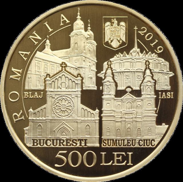 Banca Naţională a României lansează 3 monede din aur şi alamă, având ca temă vizita Papei Francisc în România