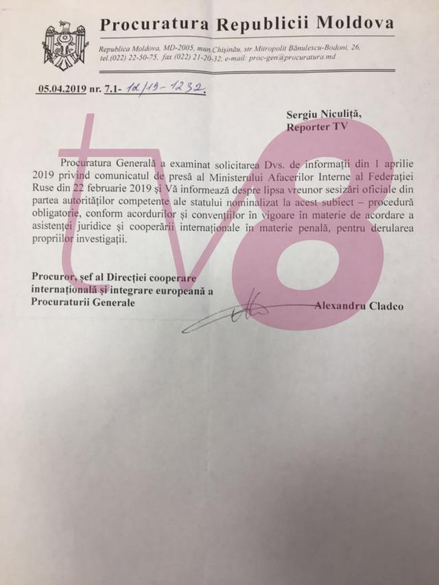 Dosarul pe numele lui Plahotniuc din Federația Rusă. Ce trebuie să facă organele de drept din R.Moldova