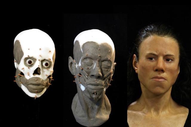 Chipul unei adolescente care a trăit acum 9.000 de ani, reconstituit de cercetători (fotografii)