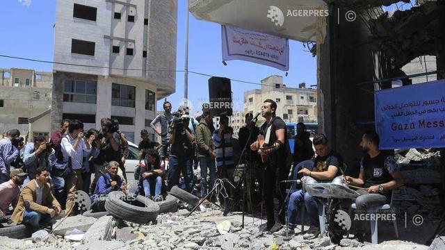 Concert simbolic organizat în Gaza în semn de protest faţă de concursul Eurovision de la Tel Aviv