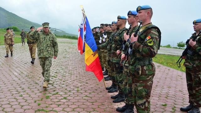 Ministerul Apărării informează despre starea militarilor moldoveni din Kosovo, în legătură cu evenimentele de ultimă oră