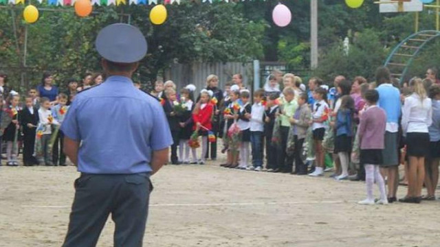 Milițienii transnistreni au intimidat festivitatea de încheiere a anului școlar, iar intonarea imnului de stat a fost interzisă în școlile de limba română