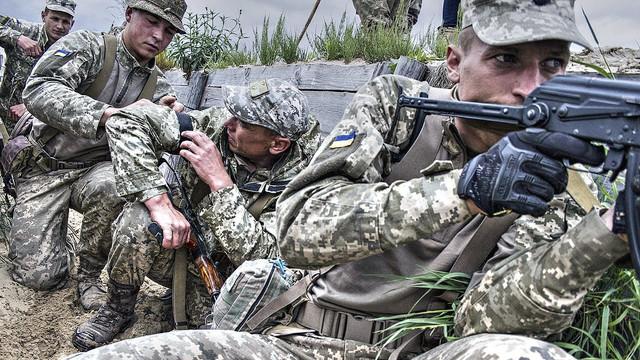 Militarii Kievului au eliberat în ultimul an trei localități aflate sub controlul separatiștilor
