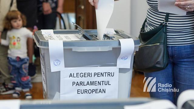 Cum au votat cetățenii din R.Moldova la europarlamentare (Jurnal TV)