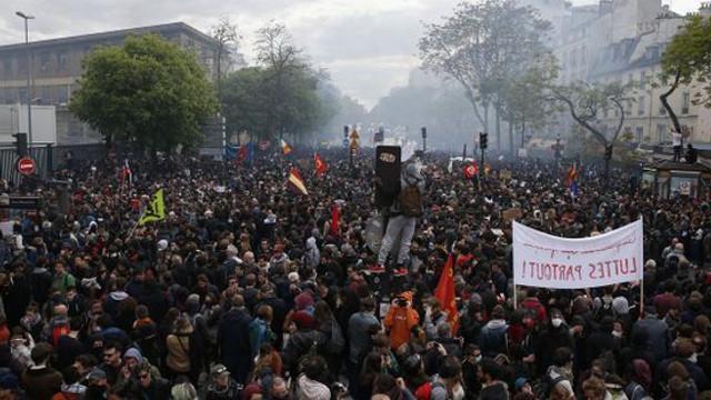 Arestări în Franța pentru a evita altercațiile de 1 mai de la Paris