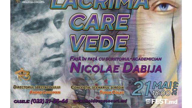 Palatul Național va găzdui un spectacol de Nicolae Dabija