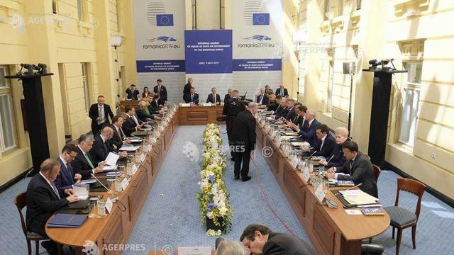 Summitul UE a adoptat Declaraţia de la Sibiu privind viitorul comunităţii