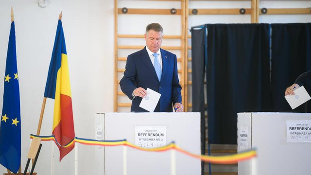 Președintele Iohannis îi îndeamnă pe români să voteze la europarlamentare: Astăzi puteți să începeți să schimbați România