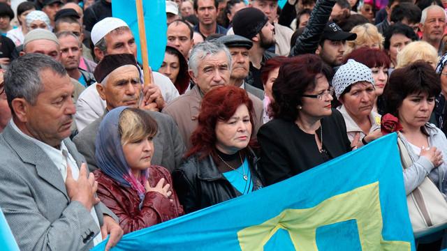 Guvernul Ucrainei cere comunității internaționale să recunoască drept genocid deportarea tătarilor din Crimeea