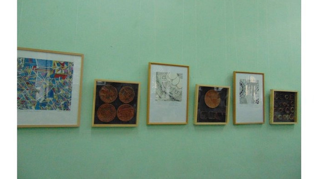 O expoziție de pictură a copiilor a fost vernisată la Biblioteca Națională