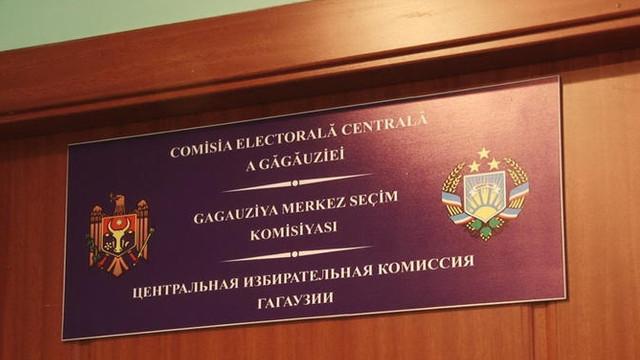CEC Găgăuzia | Primii trei candidați înregistrați în cursa pentru fotoliul de bașcan