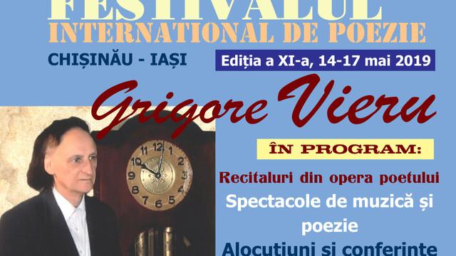 """La Chișinău începe Festivalului Internațional de Poezie """"Grigore Vieru"""