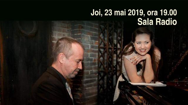 """""""Fata sihastră"""" - Nadia Trohin și pianistul Mircea Tiberian vă invită la JAZZ la Sala Radio, din București"""