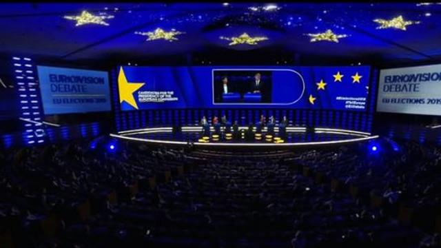 Şefia Comisiei Europene: Discuţii aprinse între candidaţi, în cadrul unei dezbateri/ Temele care au provocat dispute