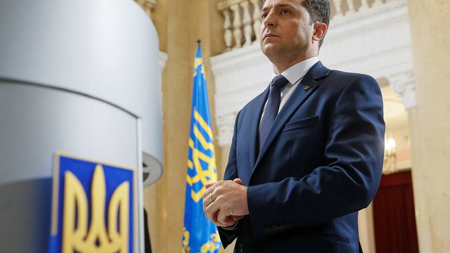 VIDEO | Zelenski presează Rada de la Kiev pentru a-și prelua oficial funcția de președinte al Ucrainei