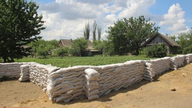 Digul din preajma satului Crocmaz a fost fortificat