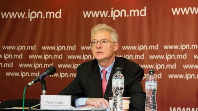 Candidatul român la europarlamentare, Petre Costea, a lansat o carte la Chișinău