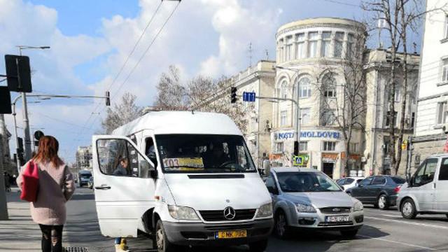 Microbuzele nr. 103 continuă să circule pe bulevardul Ștefan cel Mare
