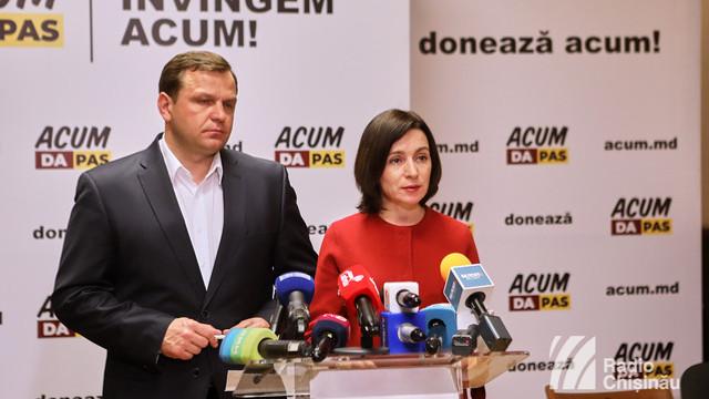 """Blocul ACUM invită PSRM să participe astăzi la """"sesiunea specială"""" a Parlamentului"""
