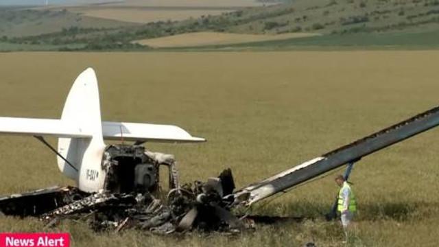 Un avion s-a prăbușit în România, la Buzău. Doi morți în accident